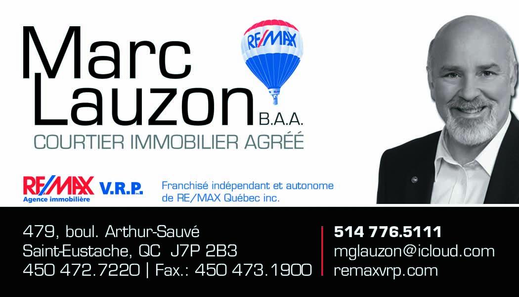 Marc Lauzon courtier immobilier agréé
