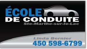 École de conduite Sainte-Marthe-sur-le-Lac