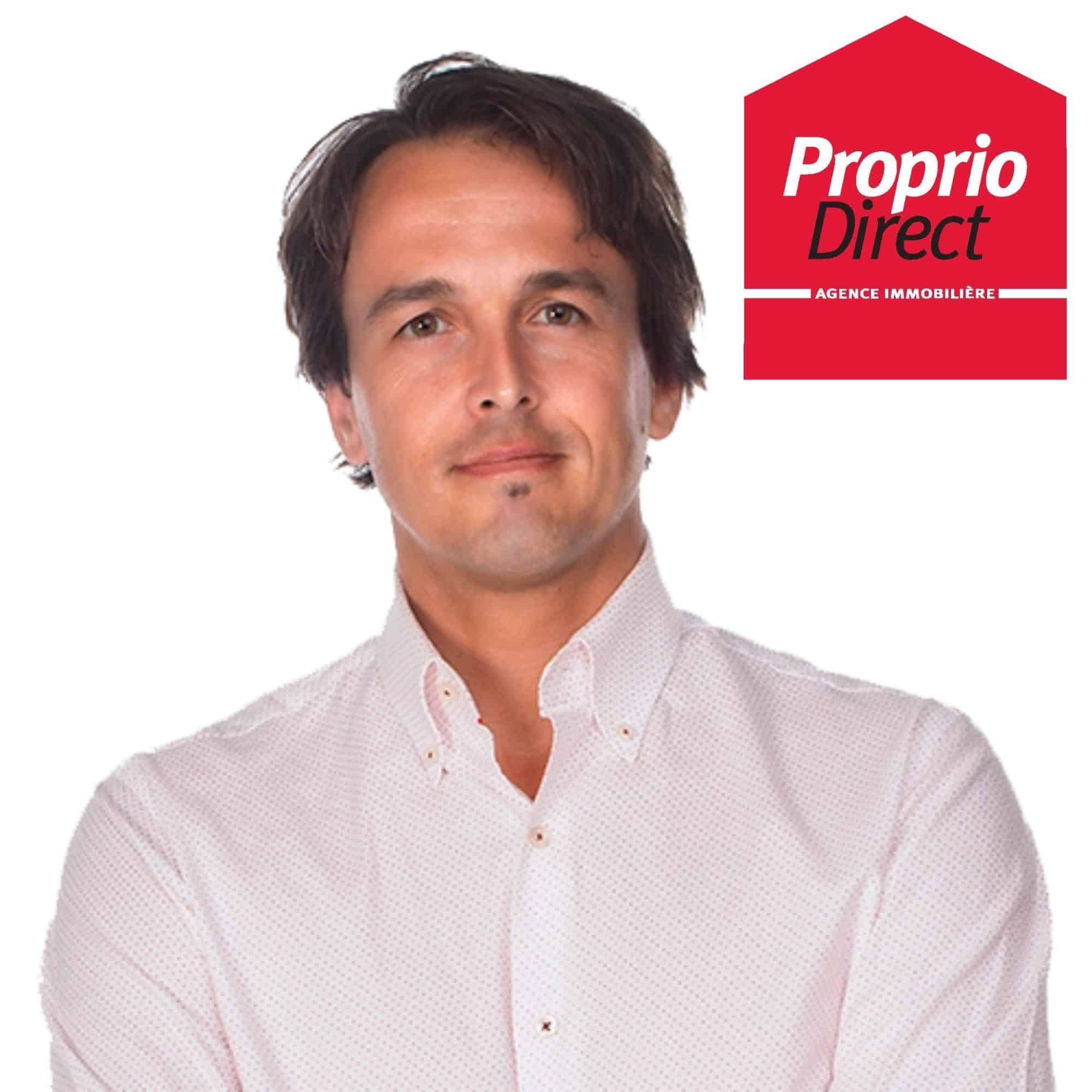 Nicolas Caron, Courtier immobilier résidentiel – Proprio Direct – Équipe Alexandra Amyot inc.